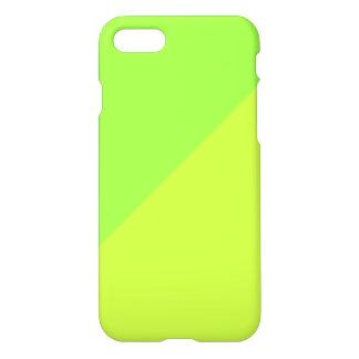 Caja verde y amarilla del iphone 7 del color funda para iPhone 7