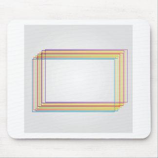 cajas coloridas alfombrilla de ratón