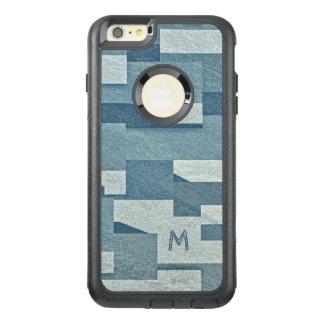 """Cajas de encargo """"concretas"""" azules del teléfono funda otterbox para iPhone 6/6s plus"""
