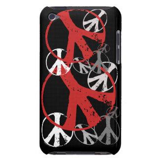 Cajas de iPod de los símbolos de paz del vintage Case-Mate iPod Touch Carcasa