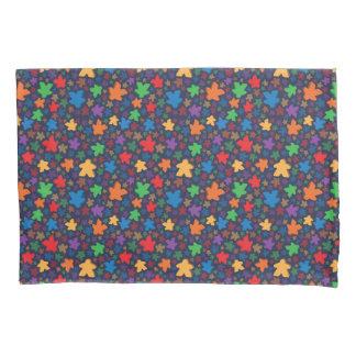 Cajas de la almohada de la impresión de Meeple Funda De Cojín