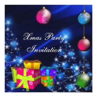 Cajas de la fiesta de Navidad de Navidad de la Invitación 13,3 Cm X 13,3cm