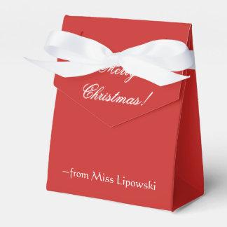 Cajas de la invitación del navidad (personalizado)