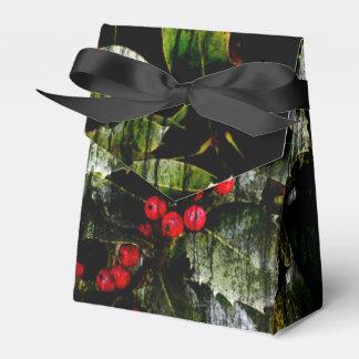 Cajas de regalo de la baya del acebo