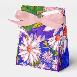 Cajas de regalo florales bonitas del favor