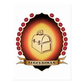 Cajas del almuerzo Mandorla Tarjeta Postal