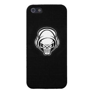 cajas del cráneo-IPhone 5 del techno, iPhone 5 Carcasas