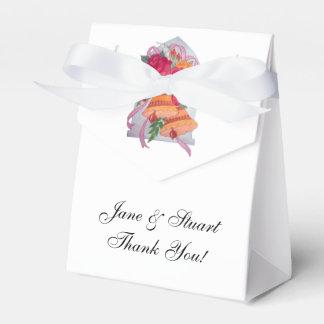 Cajas del favor de Belces de boda