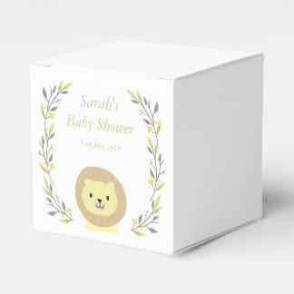 Cajas del favor de la fiesta de bienvenida al bebé