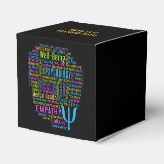 Cajas del favor de la nube de la palabra de la caja para regalos de fiestas