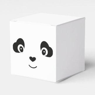 Cajas del favor de la panda