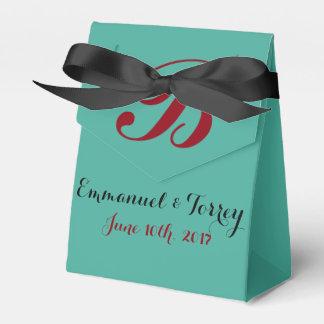 Cajas del favor del boda