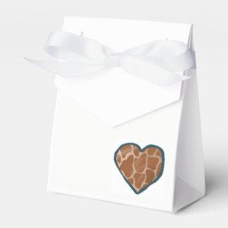 Cajas del favor del boda del corazón del amor de