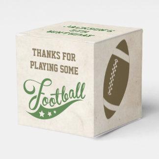 Cajas del favor del fútbol para la fiesta de