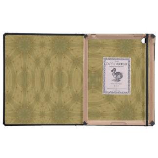Cajas del folio del iPad de la plantilla de iPad Funda