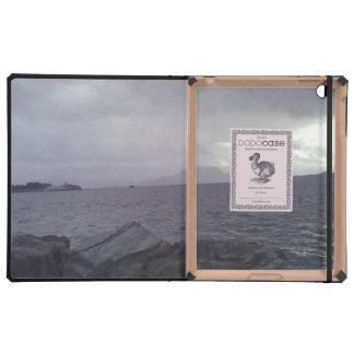 Cajas del folio del iPad de la plantilla de iPad Cárcasa