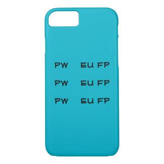 Cajas del teléfono de Steno PWEUFP PWEUFP PWEUFP Funda iPhone 7