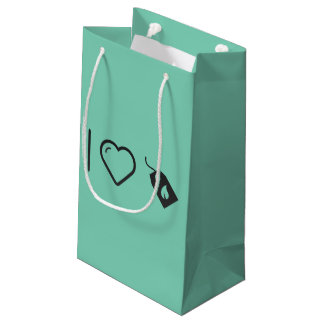 Cajas ecológicas frescas bolsa de regalo pequeña