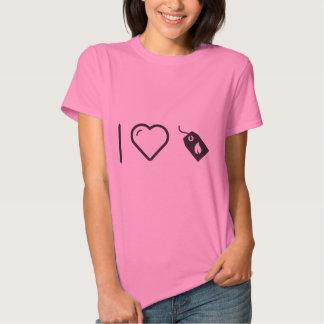 Cajas ecológicas frescas camiseta
