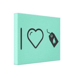 Cajas ecológicas frescas impresiones de lienzo