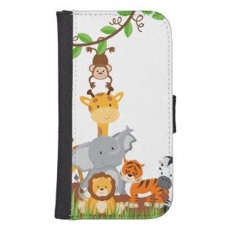 Cajas lindas de la cartera de los animales del cartera para teléfono