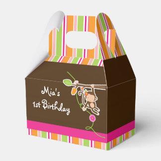 Cajas rayadas elegantes del favor de fiesta del caja para regalos