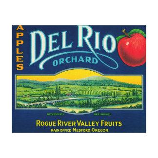 Cajón LabelMedford de Del Río Apple, O Lona Envuelta Para Galerias