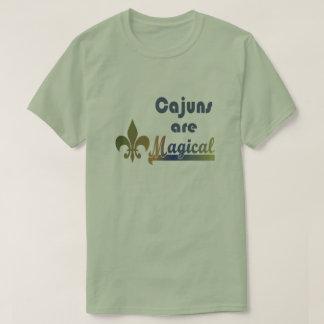 Cajuns es camiseta mágica del orgullo de Cajun de