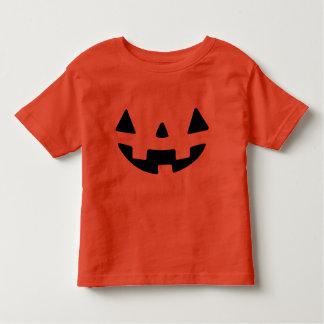 Calabaza de Halloween Camiseta De Bebé