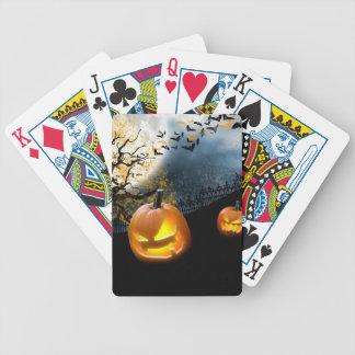 Calabaza de Halloween Baraja Cartas De Poker