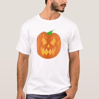Calabaza de Halloween en lino Camiseta
