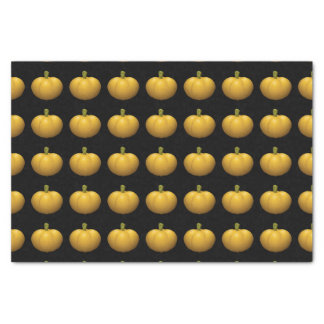 Calabaza de la comida de la interferencia papel de seda