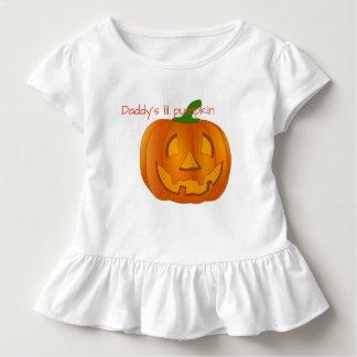 Calabaza de Lil' Camiseta De Bebé