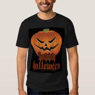 Calabaza del horror camisetas