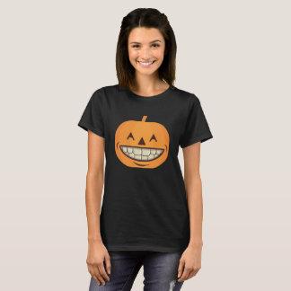 Calabaza dental de la camisa de Halloween con los