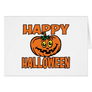 Calabaza divertida del feliz Halloween