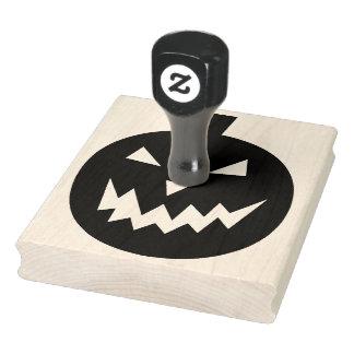 "Calabaza fantasmagórica Halloween 4"" x 5"" sello de"