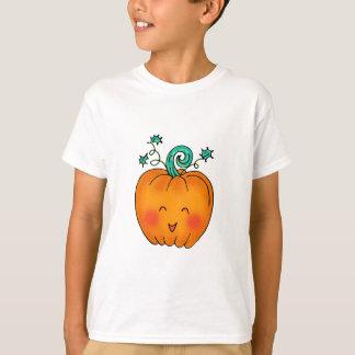Calabaza linda camiseta