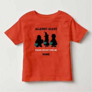 Calabaza personalizada del trullo de Halloween de Camiseta De Bebé