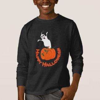 Calabaza y fantasma - camiseta