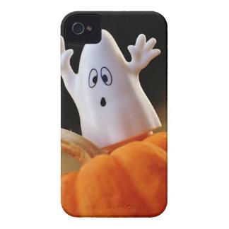 Calabaza y fantasma - fantasma divertido - funda para iPhone 4