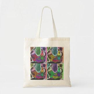 Calabazas africanas bolso de tela