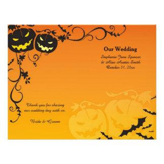 Calabazas de Halloween que casan programas