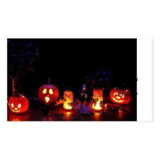 Calabazas de Halloween Tarjetas De Visita