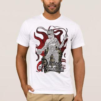 Calamar despiadado de la momia de las promociones camiseta