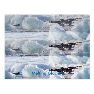 Calamidades artificiales del calentamiento del postal