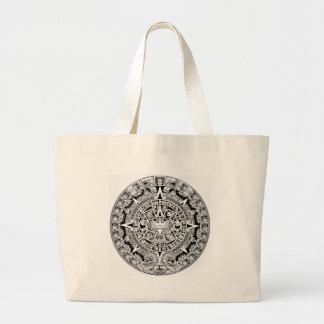 Calander maya bolsas de mano