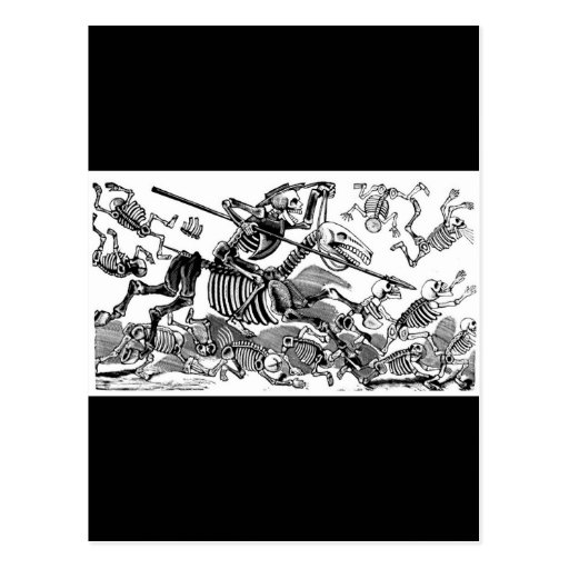 """Calavera del Don Quijote"" circa 1900's temprano Tarjeta Postal"