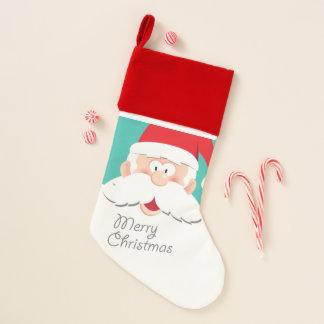 Calcetín Navideño Feliz Santa