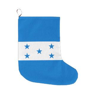 Calcetín Navideño Grande Bandera de Honduras